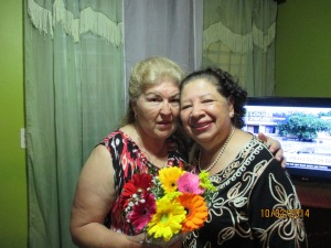 Avis and long time friend Gladys.