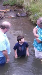 Aiden Baptism