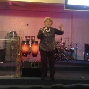 Avis speaking at Set Free Church